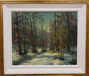 "Painting: Franklin County Artist: Dan Woodson Medium: Oil on Canvas Size: 20"" x 24"" Framed"