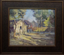"Load image into Gallery viewer, Painting: From Vinnings Studio Artist: David M. Seward Medium: Oil Size: 16"" x 20"" Framed"