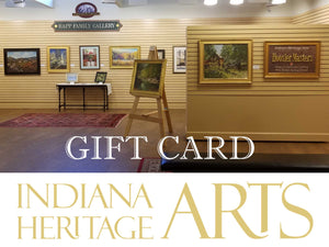 Indiana Heritage Arts Gift Cards