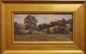 "Painting: Song of September Artist: Char Beth Brown Medium: Oil Size: 8"" x 16"" Framed"