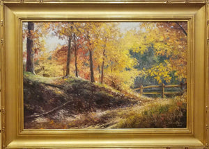 Painting: Strahl Lake Trial Artist: Tim Greatbatch Medium: Oil Size: