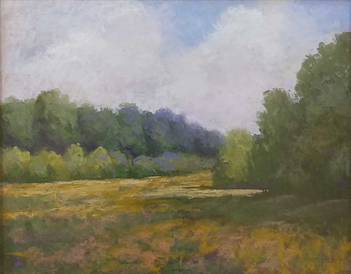 Painting: Summer Whispers Artist: Ron Burgess Medium: Pastel Size: Framed