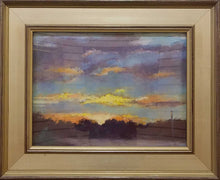 "Load image into Gallery viewer, Painting: Sunrise Artist: Corrine Hull Medium: Pastel Size: 12"" x 16"" Framed"