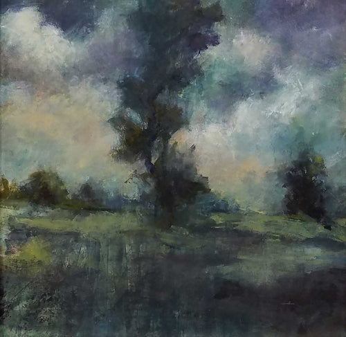 Painting: Twilight Artist: Mary Ann Davis Medium: Oil Size: 18