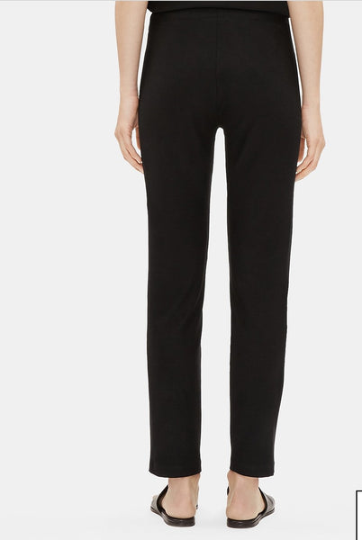 Eileen Fisher System Crepe Slim Ankle Pant