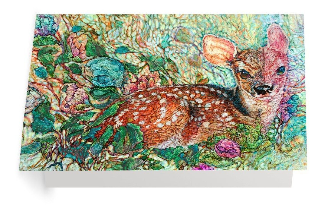Confetti Season - Art Card - Col Mitchell ~ Wild Blackbird