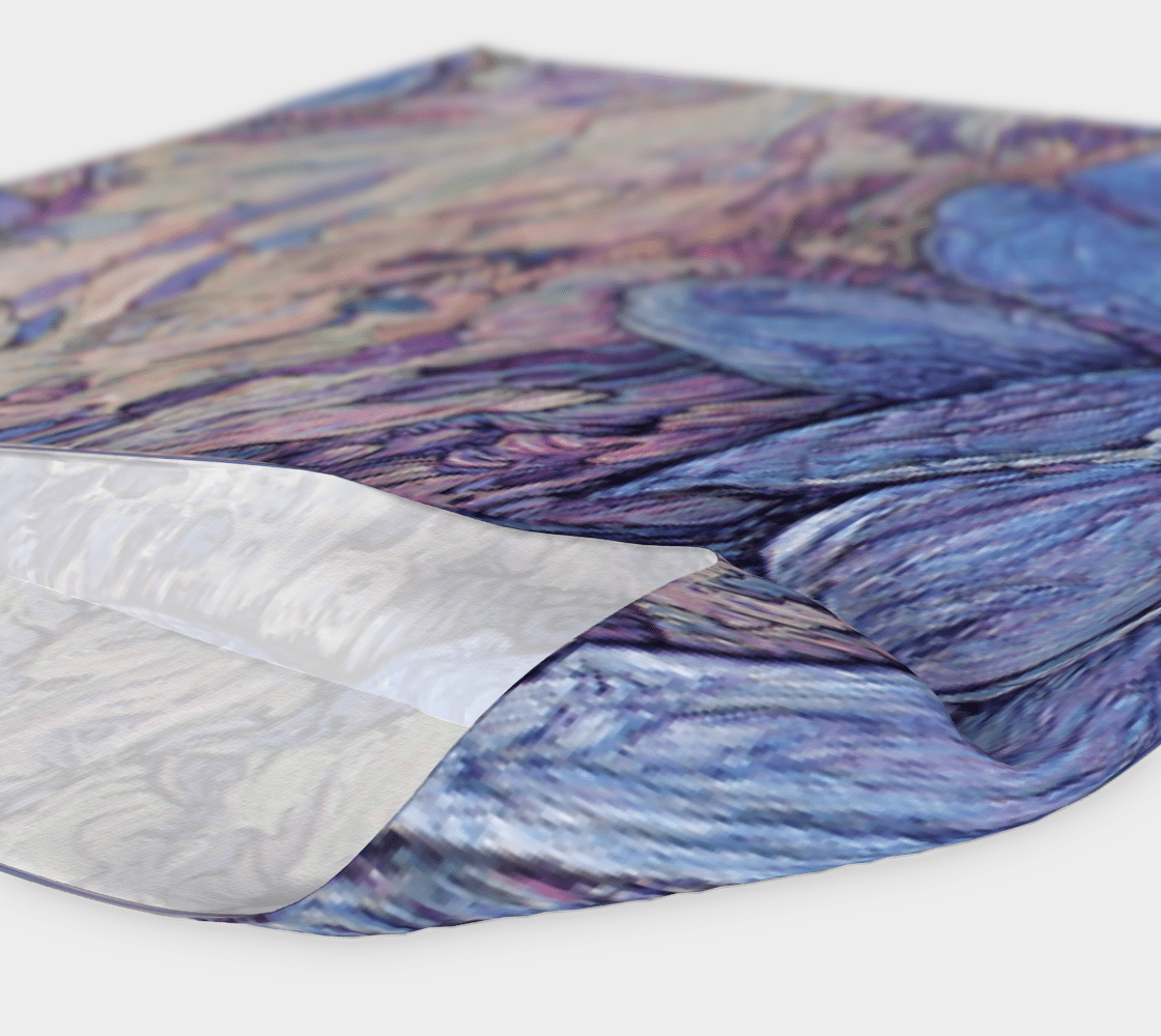 IRIS - HEAD WRAP - Col Mitchell ~ Wild Blackbird