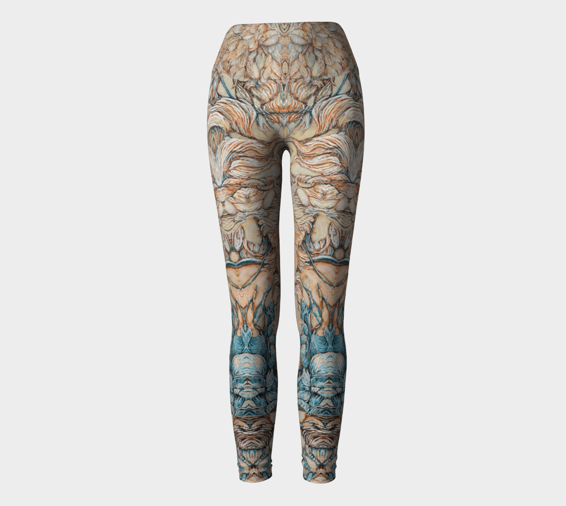 LEGGINGS & YOGA: ADALYN - Col Mitchell ~ Wild Blackbird