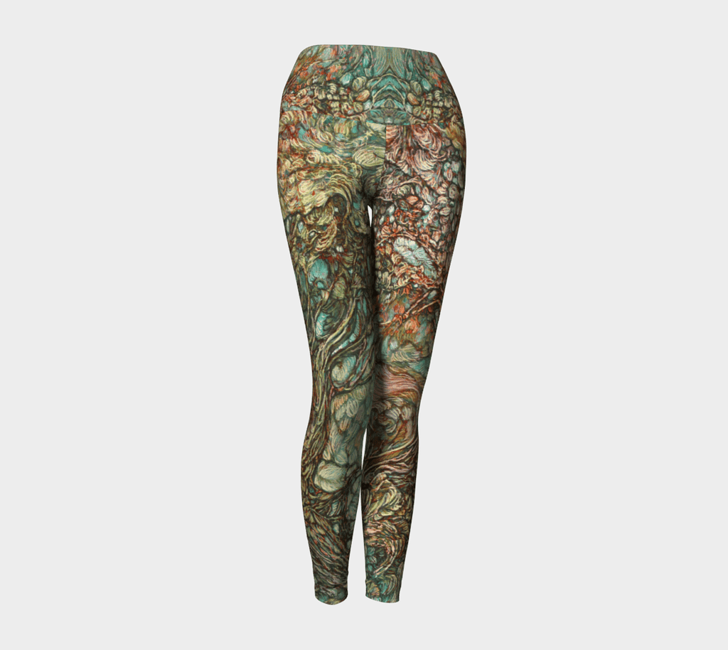 LEGGINGS & YOGA: AVALYN - Col Mitchell ~ Wild Blackbird