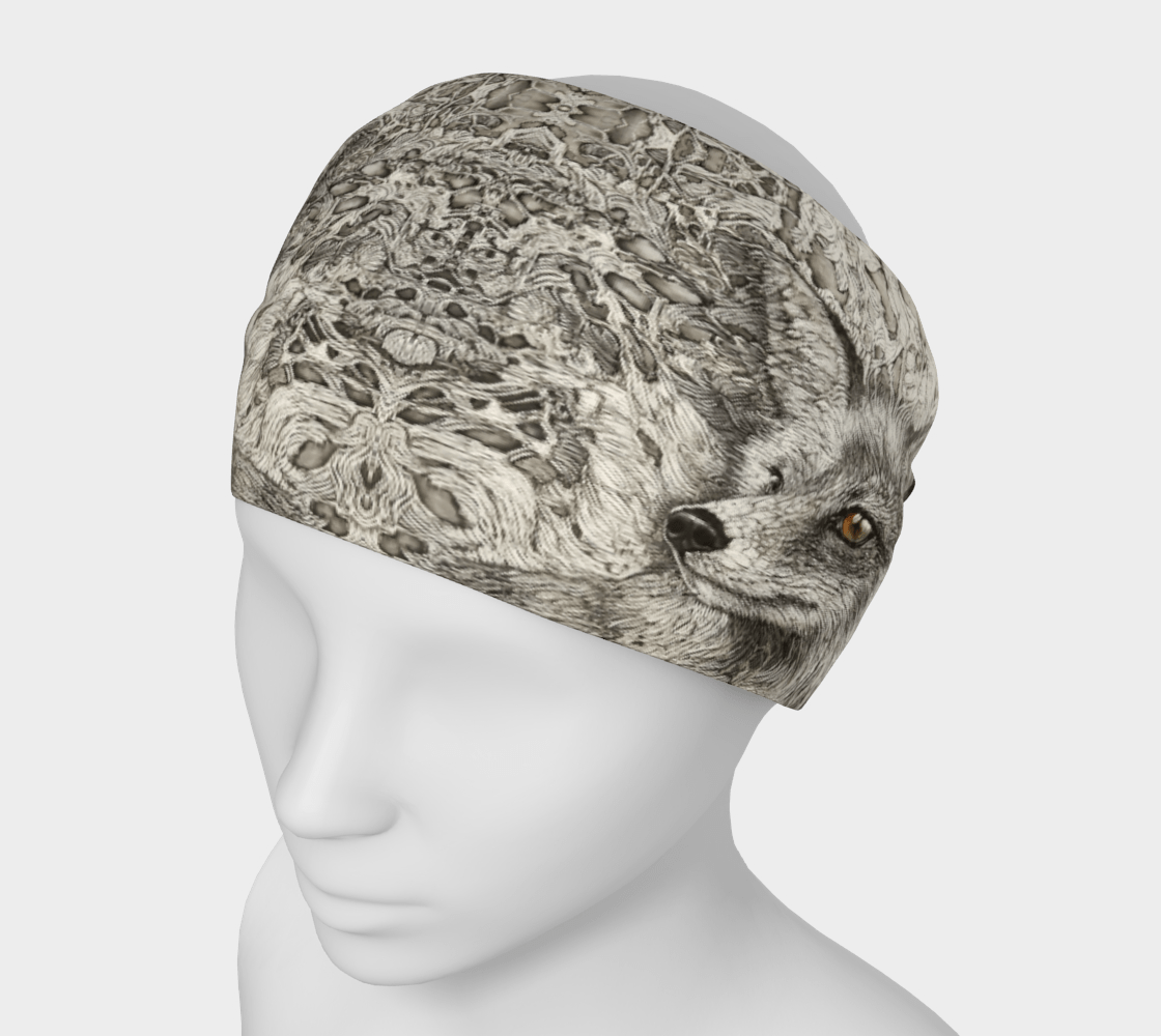 REYNARD FOX - HEAD WRAP - Col Mitchell ~ Wild Blackbird