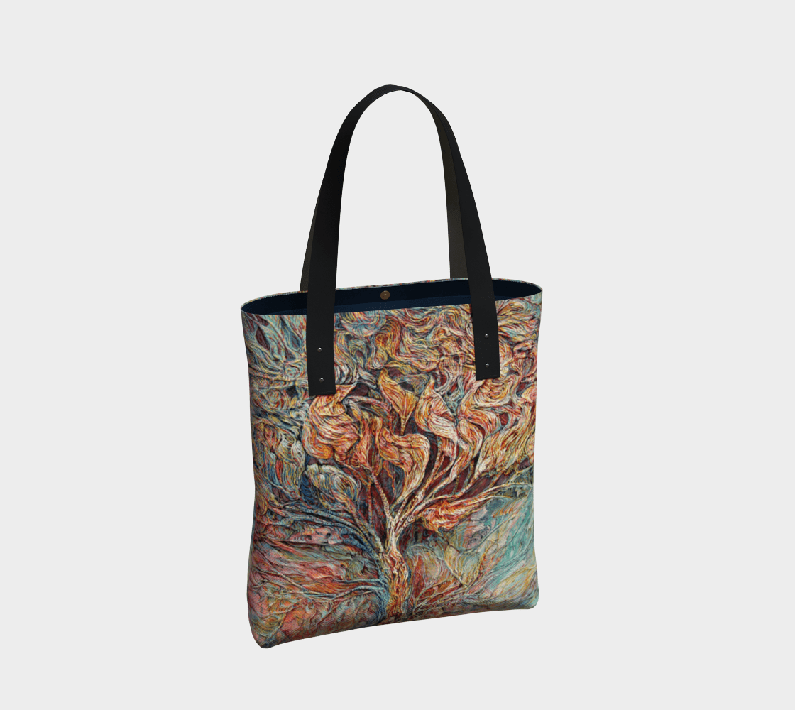TREE OF LIFE 1 - HANDBAG - Col Mitchell ~ Wild Blackbird