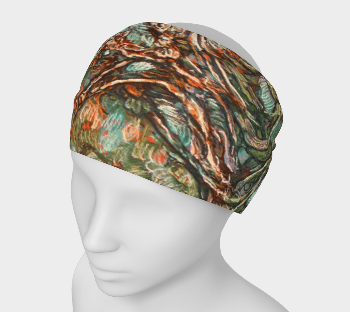 TREE OF LIFE 1 - HEAD WRAP - Col Mitchell ~ Wild Blackbird