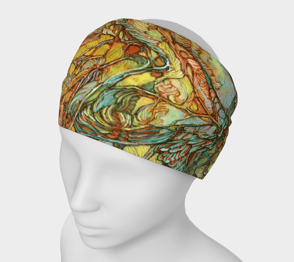 TREE OF LIFE 2 - HEAD WRAP - Col Mitchell ~ Wild Blackbird