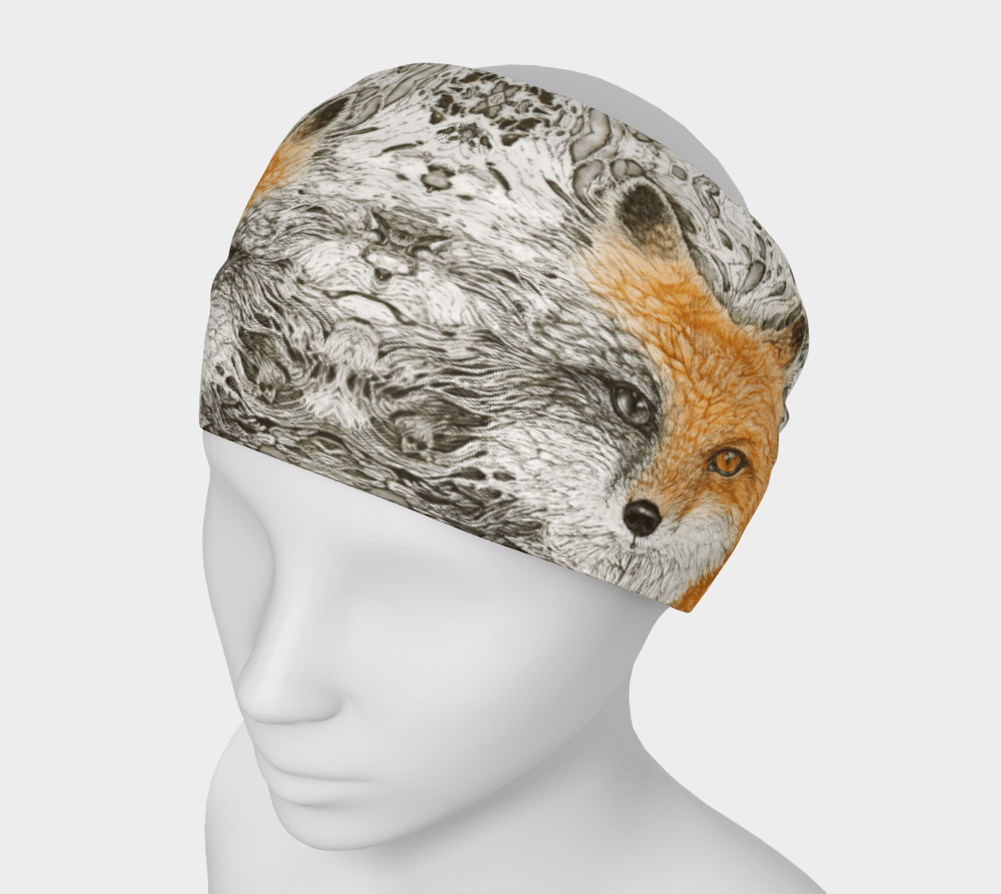 VIXEN FOX - HEAD WRAP - Col Mitchell ~ Wild Blackbird