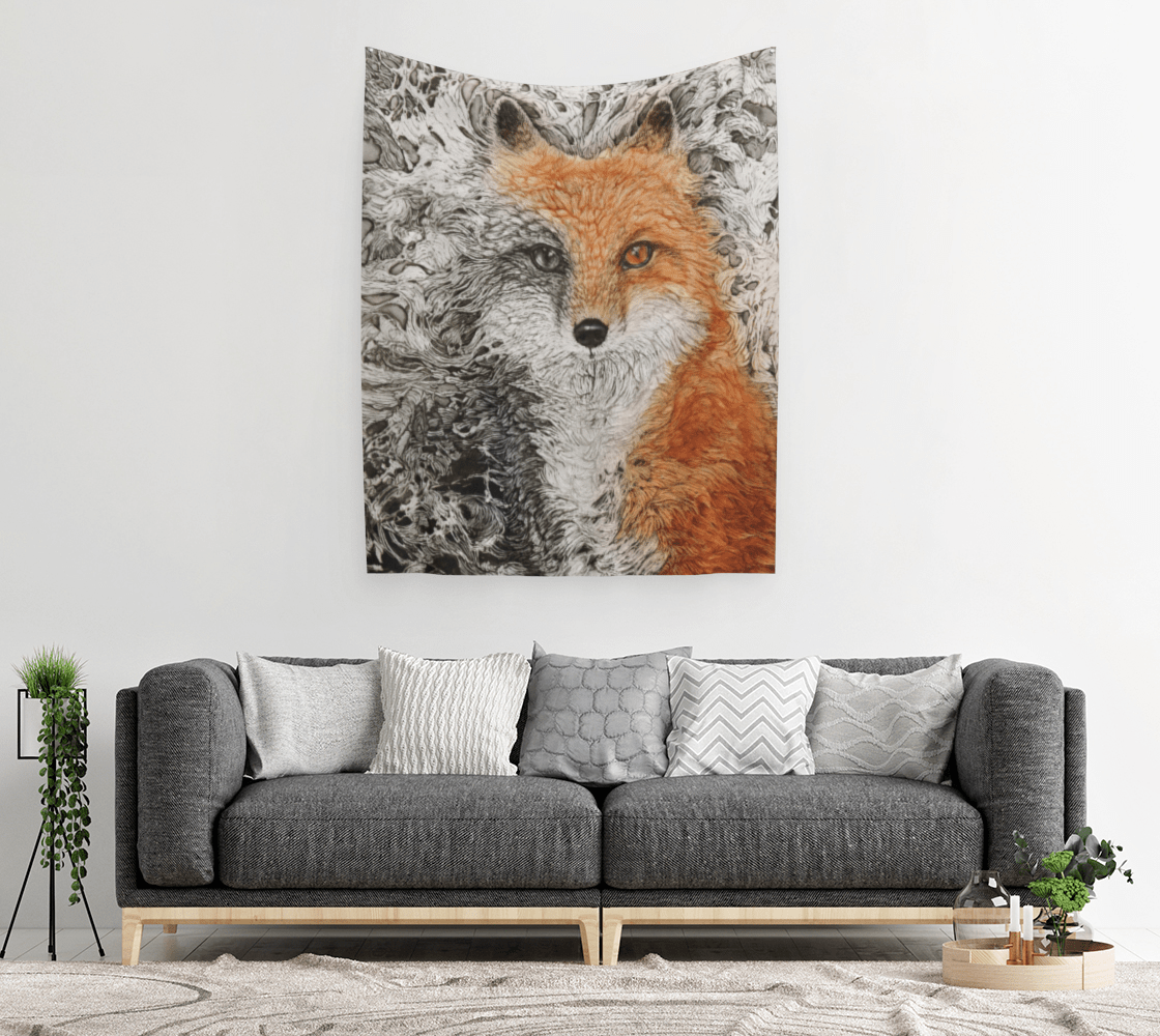 VIXEN FOX - TAPESTRY - Col Mitchell ~ Wild Blackbird