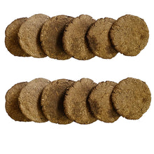 Load image into Gallery viewer, Cow Dung Cakes/Uple (Pack of 24)
