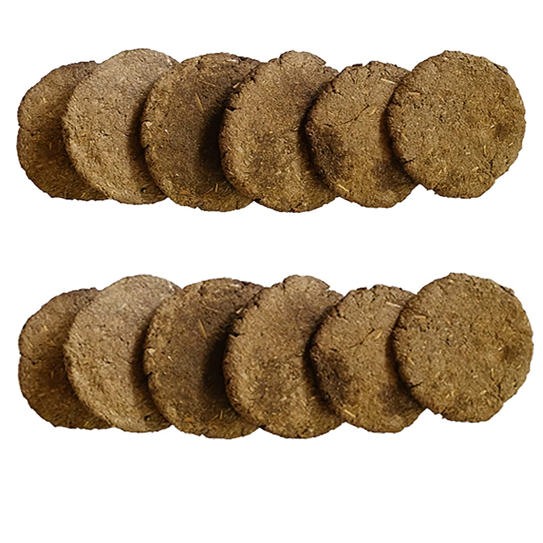 Cow Dung Cakes/Uple (Pack of 24)