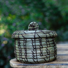 Load image into Gallery viewer, Handcrafted Pine-Needle Basket