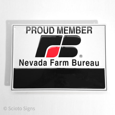Nevada Farm Bureau Sign