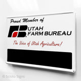 Utah Farm Bureau Sign