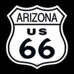 Arizona Route 66 Metal Sign - Sign Store
