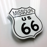 Missouri Route 66 Metal Sign - Sign Store
