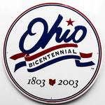 Ohio Bicentennial Metal Sign - Sign Store