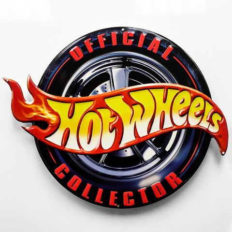 Hot Wheels Metal Sign - Sign Store