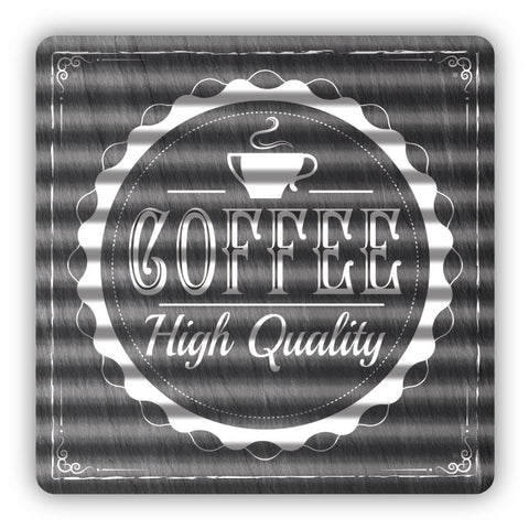 High Quality Coffee Metal Sign - Sign Store