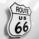 Route 66 Metal Sign - Sign Store