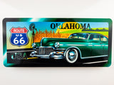 Route 66 Oklahoma Wooden Sign - Sign Store