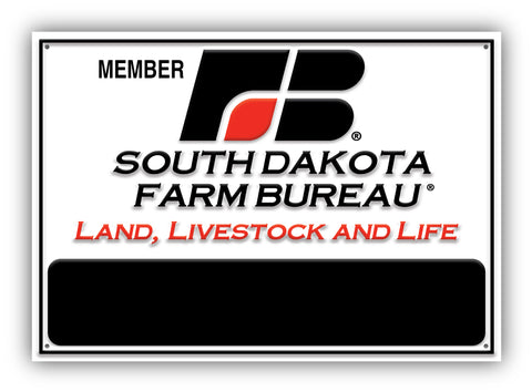 South Dakota Farm Bureau Sign