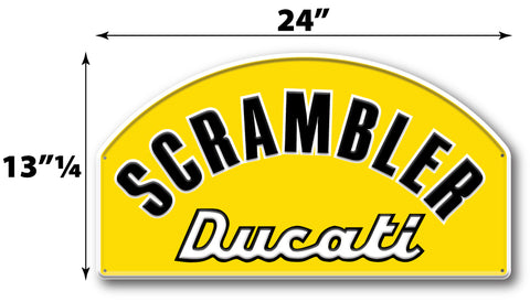 Ducati Scramble Sign