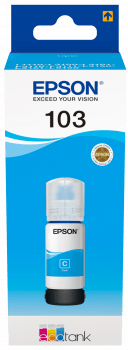 Epson EcoTank 103 Cyan Ink Bottle - Afatrading Company Limited