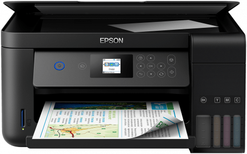 EcoTank ITS printer L4160, 3-in-1 with LCD screen: Print, copy & scan - plus double-sided printing USB, WiFi, Wi-Fi Direct. - Afatrading Company Limited
