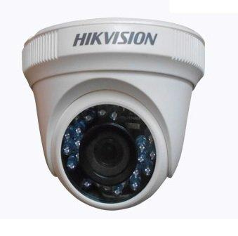HikVision  Indoor IR Turret Camera with 1MP CMOS Sensor, 12 pcs IR LEDs, 20m IR, ICR, 0.01 Lux/F1.2, 12 VDC, Smart IR, 2.8/3.6mm Lens - (DS-2CE56C0T-IRP) - Afatrading Company Limited