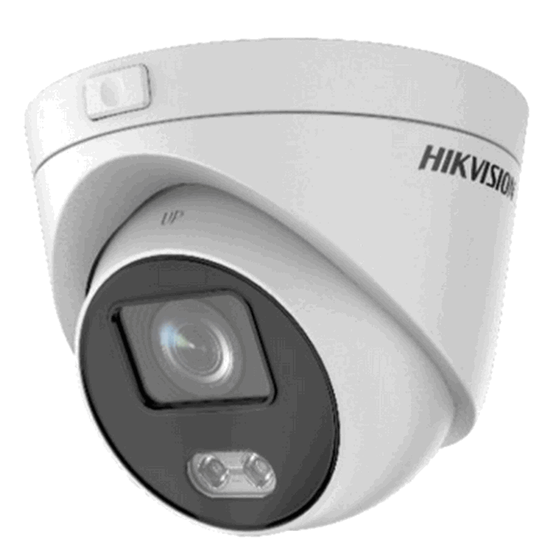 Hikvision 2 MP ColorVu Fixed Turret Network Camera 4 mm (DS-2CD2327G3E-L(4mm)) - Afatrading Company Limited