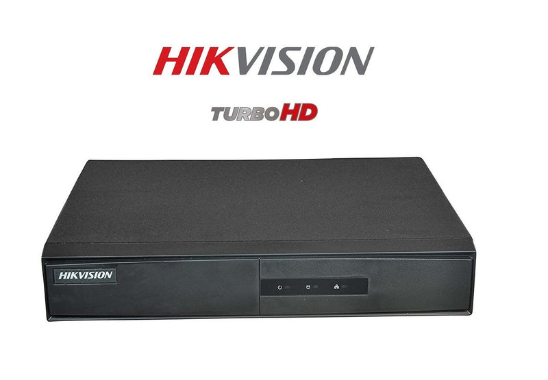 Hikvision 4 Channel DVR Tribrid HDTVI with Metal Remote (Black) - (DS-7204HGHI-F1) - Afatrading Company Limited