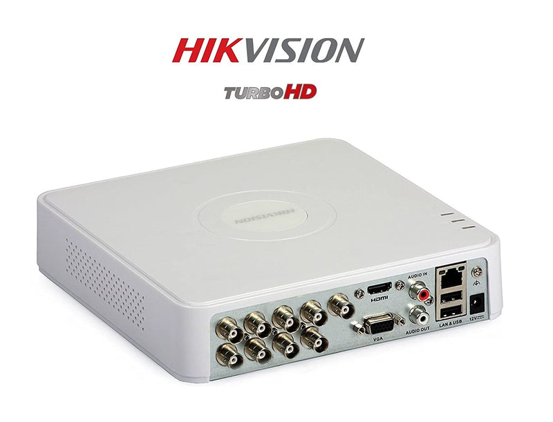 HIKVISION Turbo HD 720P 8Ch. HD DVR Standalone 8Ch. - (DS-7108HGHI-F1) - Afatrading Company Limited