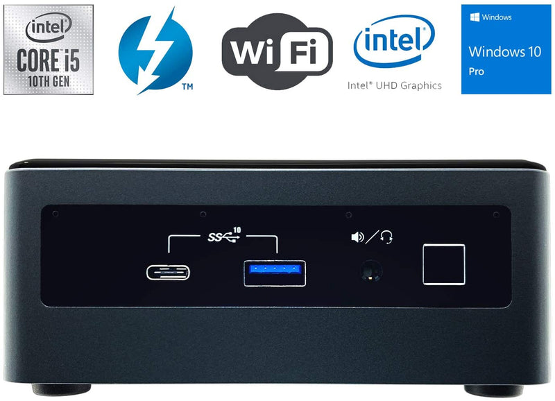 Intel NUC 10 performance Kit ( NUC10i5FNH) Core i5 with 16GB ram and 256GB SSD