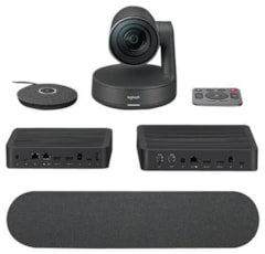 Logitech Rally Video Conferencing Kit with 1 Speaker and 1 Mic with mounting kit (960-001217)