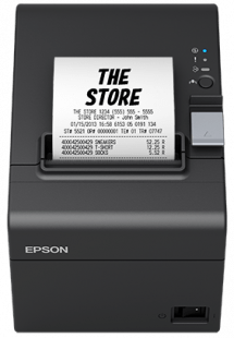 Epson TM-T20III POS Receipt Printer - USB + Serial, PS, Blk, UK - Afatrading Company Limited
