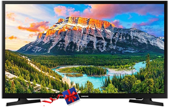 "Samsung FHD FLAT SMART LED TV: SERIES 5 - 43"" FHD Smart LED TV - (UA-43T5300)"