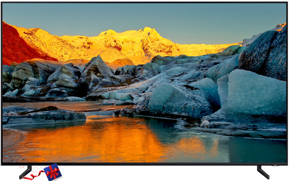 "Samsung FLAT SMART QLED TV: SERIES 9 - 75"" UHD 8K Smart QLED TV - (QA-75Q900RB)"
