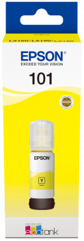 Epson EcoTank 101 Yellow Ink Bottle- 70ML - Afatrading Company Limited