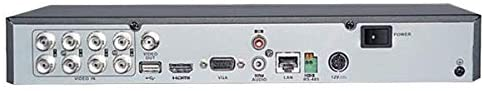 HikVision 8 Turbo HD/CVI / AHD / CVBS self-adaptive interfaces input, 8-ch HDTVI  coaxial video&audio input, 1-ch RCA audio input, 4-ch IP video input(up to 12-ch IP), H.265/H.265 Pro/H.265 Pro+ compression, 1 SATA interface, - (DS-7208HQHI-K1) - Afatrading Company Limited