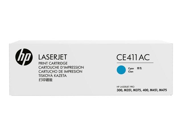 HP Cyan Contract LaserJet Toner Cartridge - (CE411AC) - Afatrading Company Limited