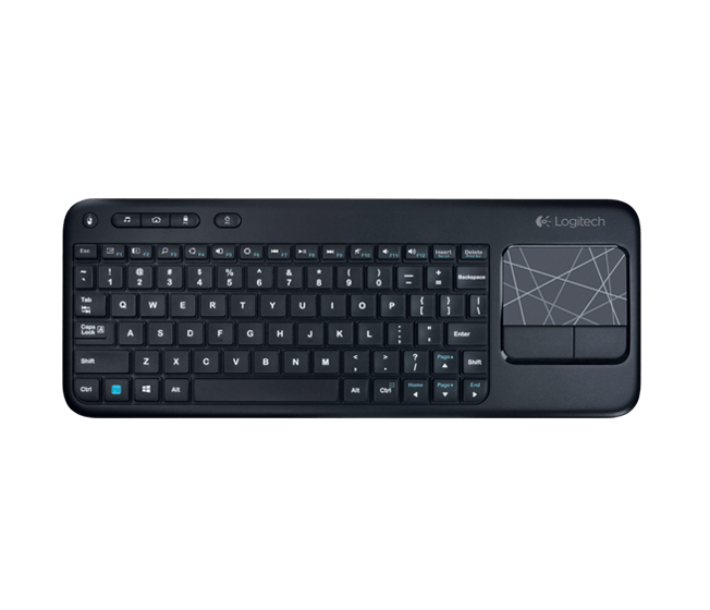 LOGITECH WIRELESS TOUCH KEYBOARD K400 PLUS - Afatrading Company Limited