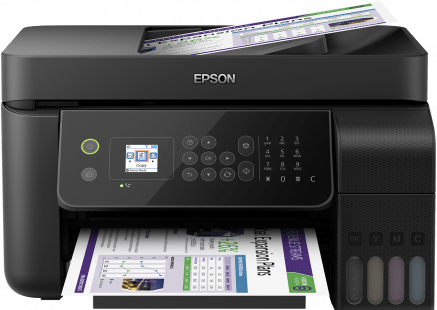 Epson EcoTank ITS L5190 4-in-1 with ADF - Print, copy ,Fax & scan - Afatrading Company Limited