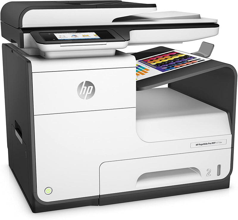 HP PageWide Pro 477dw Multifunction Printer - (D3Q20B) - Afatrading Company Limited